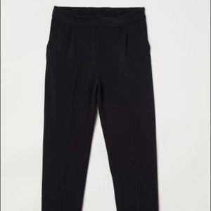 Elastic waist pull-on slacks